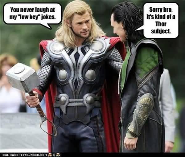 Hilarious cool funny thor memes jokes
