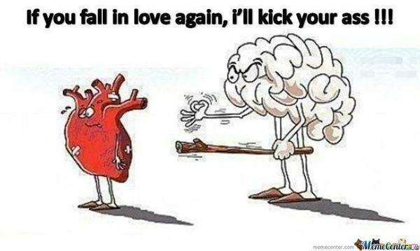 Hilarious in love meme joke