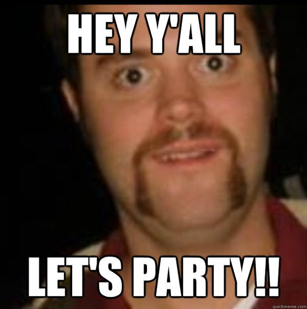 Hilarious lets party meme picture