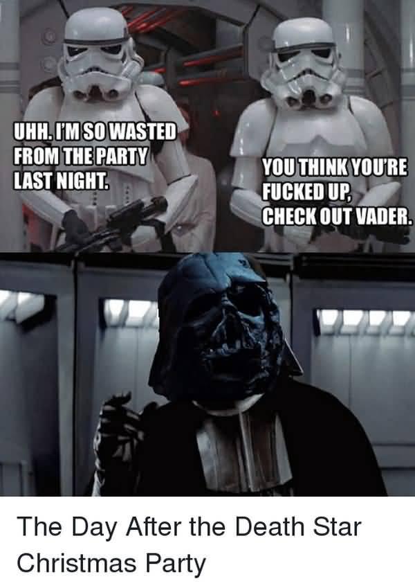 Hilarious star wars christmas meme photo
