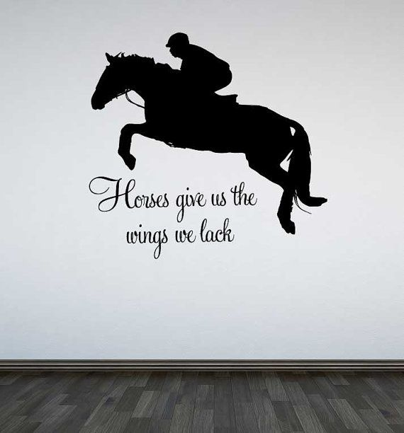 Horse Jumping Quotes Meme Image 04