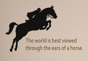 Horse Jumping Quotes Meme Image 11 Quotesbae