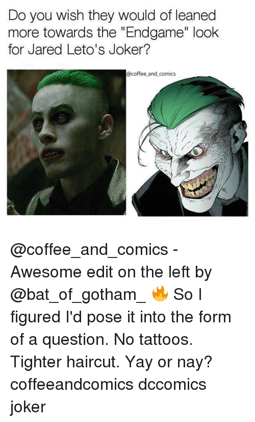 Jared Leto Joker Meme Funny Image Photo Joke 02