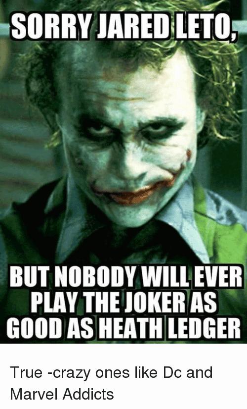 Jared Leto Joker Meme Funny Image Photo Joke 10