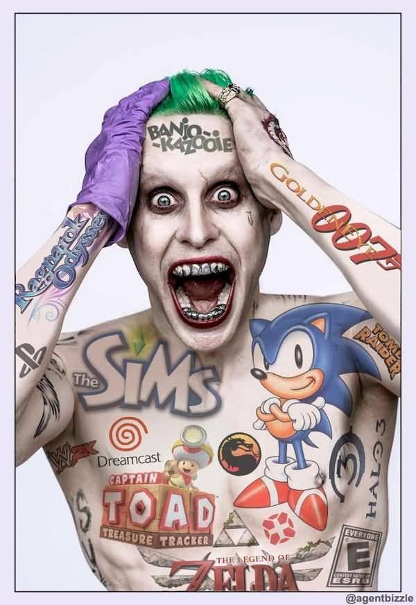 Jared Leto Joker Meme Funny Image Photo Joke 13