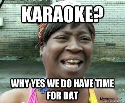 Karaoke Meme Funny Image Photo Joke 12