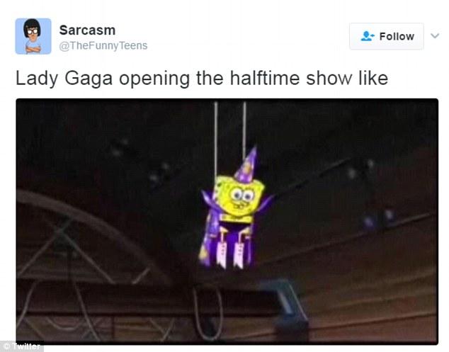 Lady Gaga Spongebob Meme Funny Image Photo Joke 04