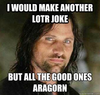 Lotr Meme Funny Image Photo Joke 05