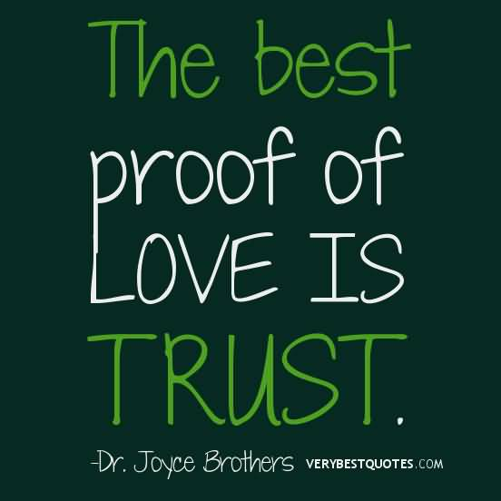 Love And Trust Quotes Meme Image 09