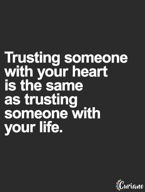 Love And Trust Quotes Meme Image 18