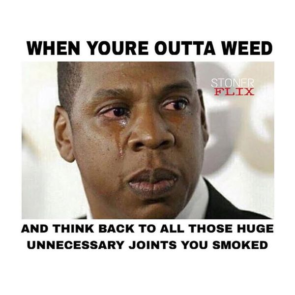 Most hilarious weed memes image