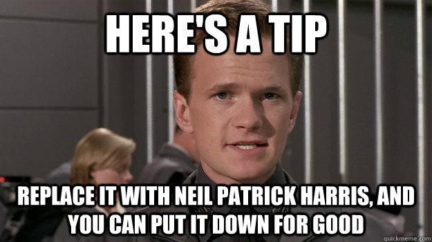 Neil Patrick Harris Meme Funny Image Photo Joke 01