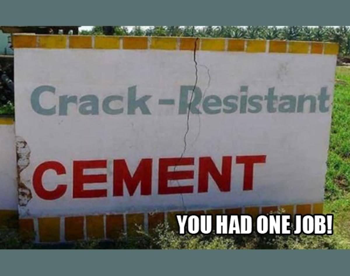 One Job Meme Funny Image Photo Joke 14