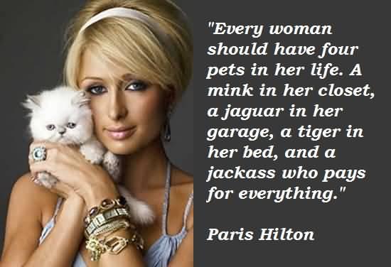 Paris Hilton Quotes Meme Image 09