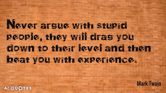 Quotes About Stupid People Meme Image 07