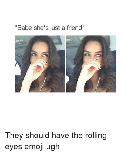 Rolling Eyes Meme Funny Image Photo Joke 02