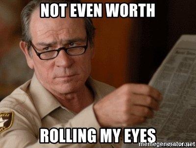 Rolling Eyes Meme Funny Image Photo Joke 13