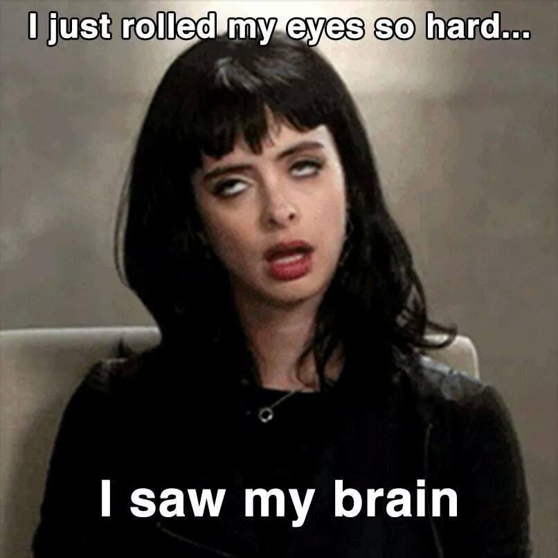 Rolling Eyes Meme Funny Image Photo Joke 16