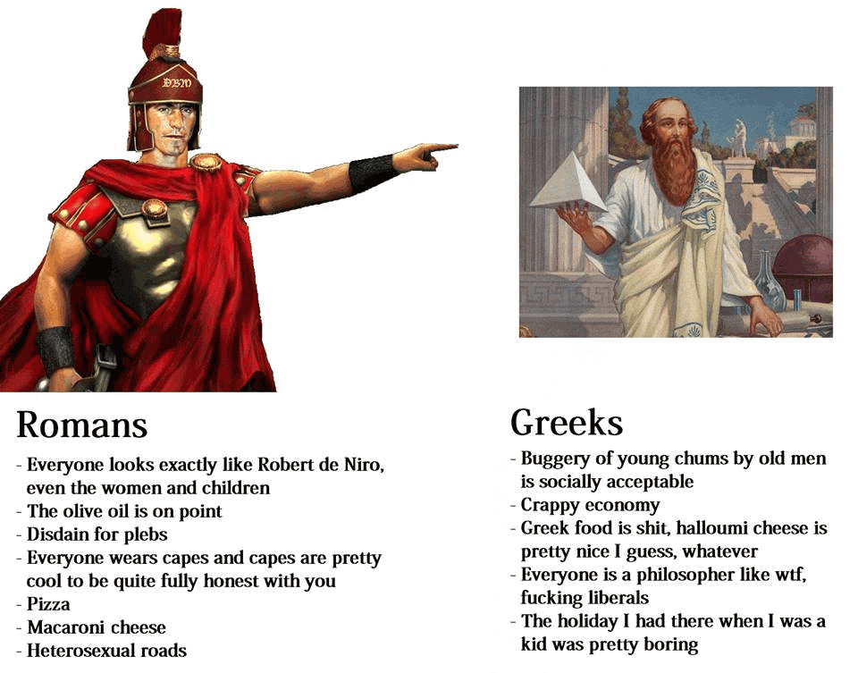Roman Meme Funny Image Joke 04