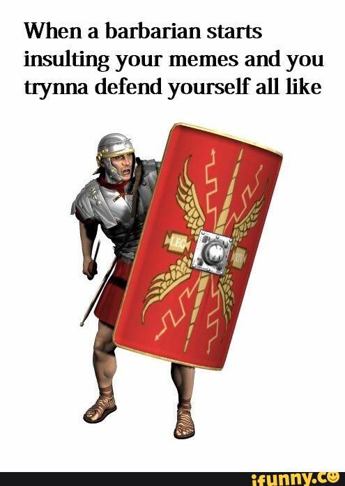 Roman Meme Funny Image Joke 13