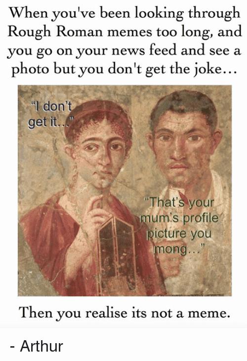 Roman Meme Funny Image Joke 14