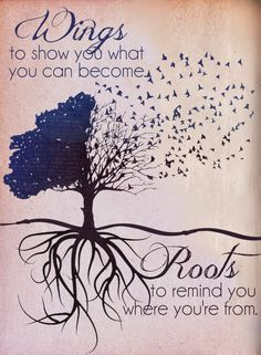 Roots And Wings Quote Meme Image 01