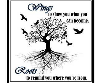 Roots And Wings Quote Meme Image 04