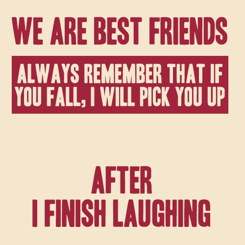 Short Best Friend Quote Meme Image 06