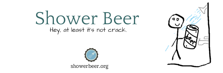 Shower Beer Meme Funny Image Photo Joke 02