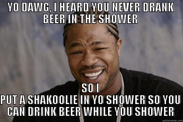 Shower Beer Meme Funny Image Photo Joke 14