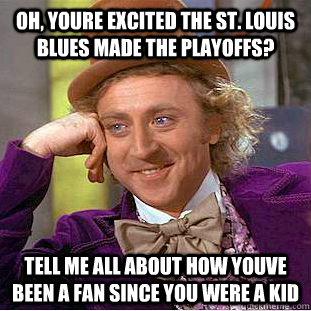 St Louis Blues Meme Funny Image Photo Joke 11
