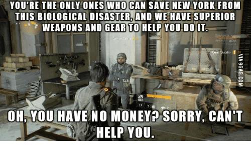 The Division Meme Joke Image 11