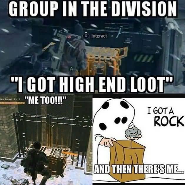 The Division Meme Joke Image 12