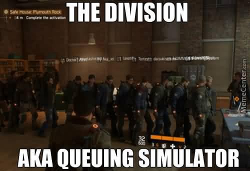 The Division Meme Joke Image 14
