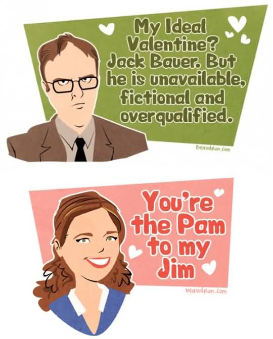 The Office Valentines Meme Funny Image Photo Joke 07