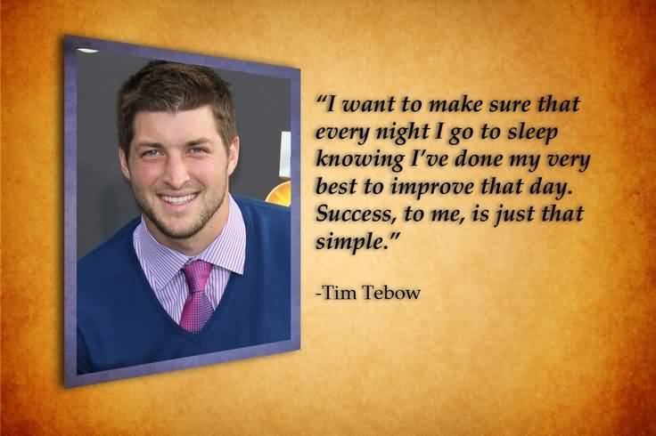 Tim Tebow Quotes Meme Image 19