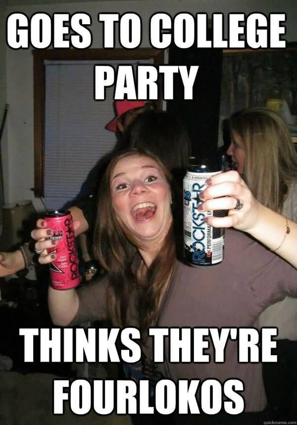 Very funny party girl meme jokes