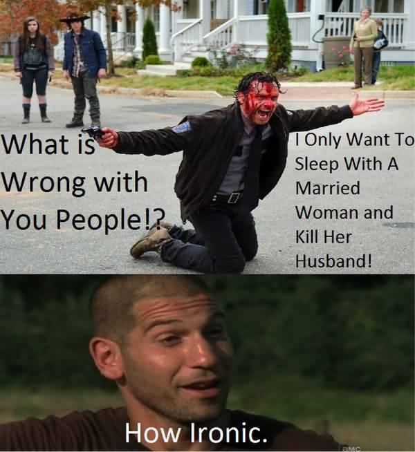 Very funny walking dead memes jokes