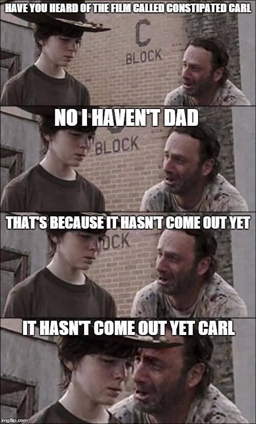 Walking Dead Memes Coral Joke Image 04