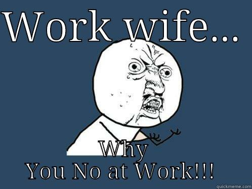 Work Wife Meme Funny Image Photo Joke 07