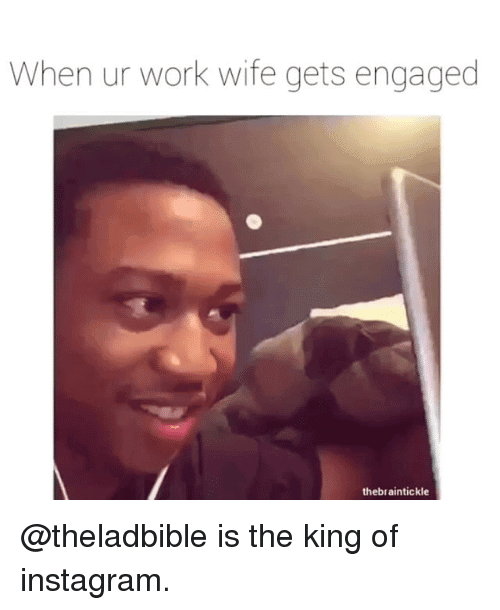 Work Wife Meme Funny Image Photo Joke 08
