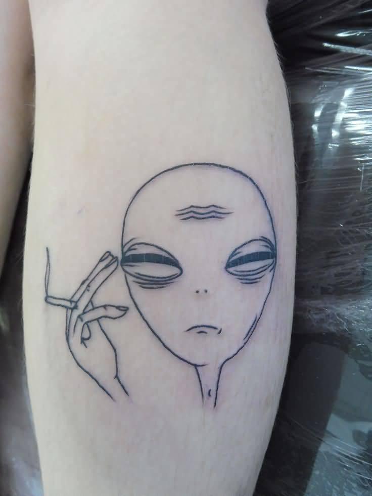 Alien Tattoo Design Picture 15