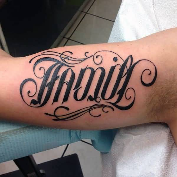 Ambigram Tattoo Design Picture 03