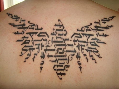 Ambigram Tattoo Design Picture 16