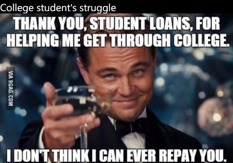 College Life Meme Funny Image Photo Joke 02