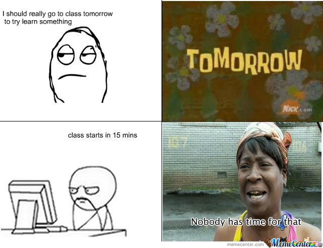 College Life Meme Funny Image Photo Joke 12