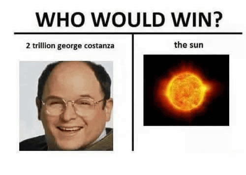 Costanza Meme Funny Image Photo Joke 12