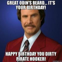 Crazy Happy Birthday Meme Image Joke 01
