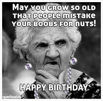Crazy Happy Birthday Meme Image Joke 09