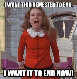 End Of Semester Meme Image Photo Joke 04